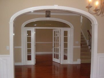 Arch Transom French Doors u0026 Side Lights - Traditional Entry By Curvemakers Inc & 23 best Archway Doors images on Pinterest | Barn doors Sliding ...
