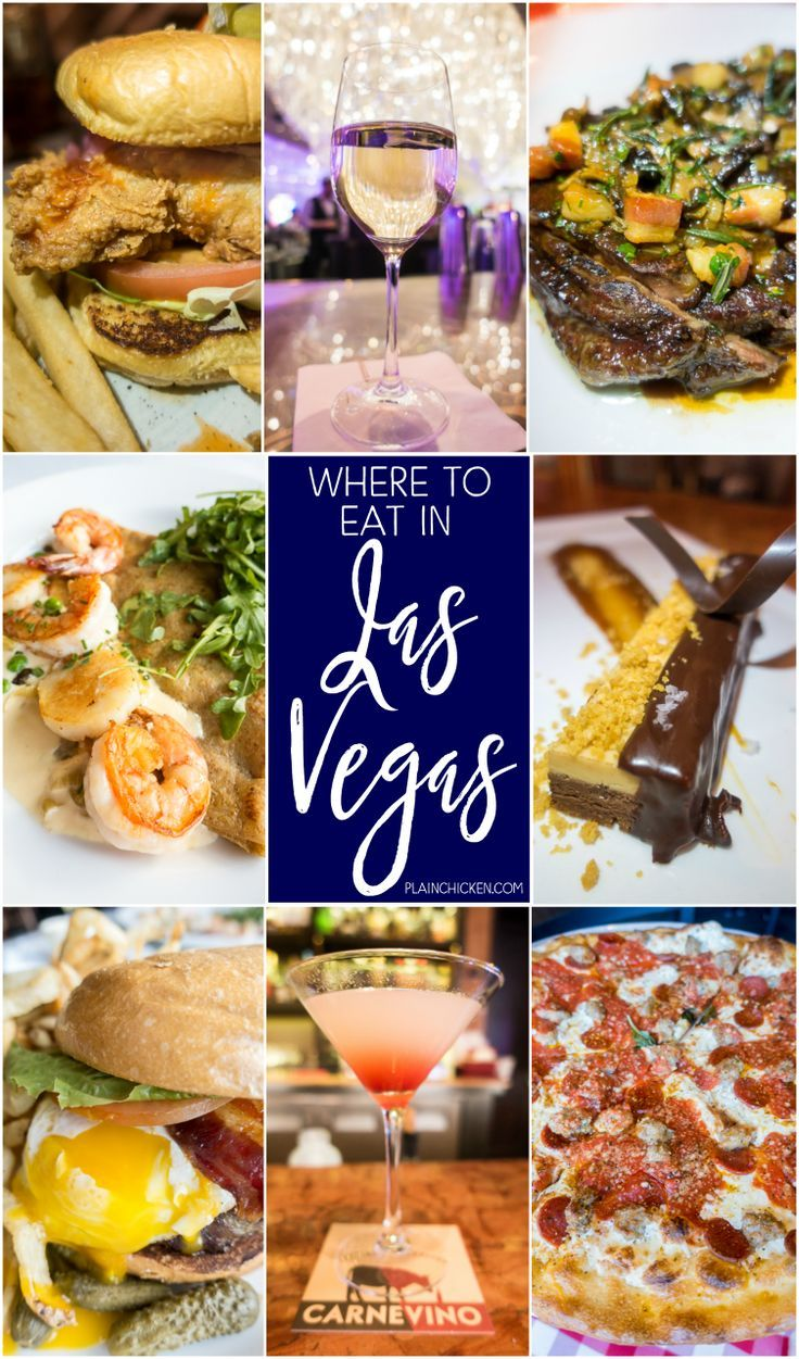 Where to eat in Las Vegas - some of the best food in the world is in Las  Vegas! Great list of places to eat on and… | Vegas food, Las vegas