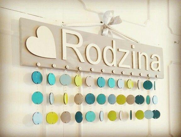 Kalendarz Rodzinny Mozna kupic tu http://pl.dawanda.com/product/91283955-kalendarz-rodzinny