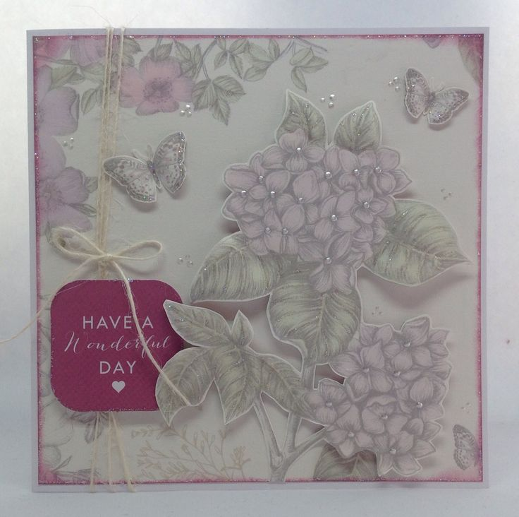 Card created using Birds and Blooms Mega Variety kit, designed by Julie Hickey…