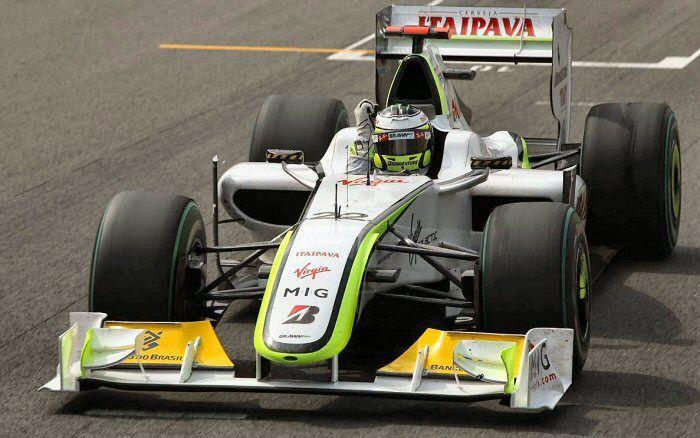 Brazil 2009 • BRAWN GP BGP001