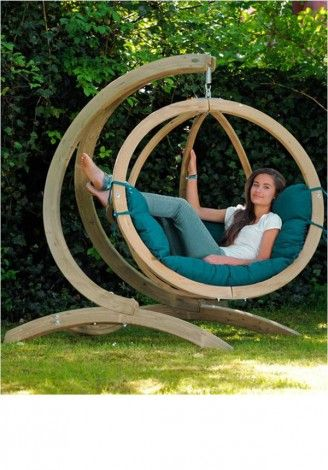 hammocking around - would be perfect with a book and some iced tea!