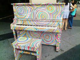 Image result for painted pianos images