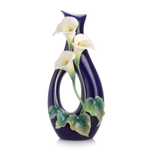 Franz Porcelain Calla Lily Vase FZ03170