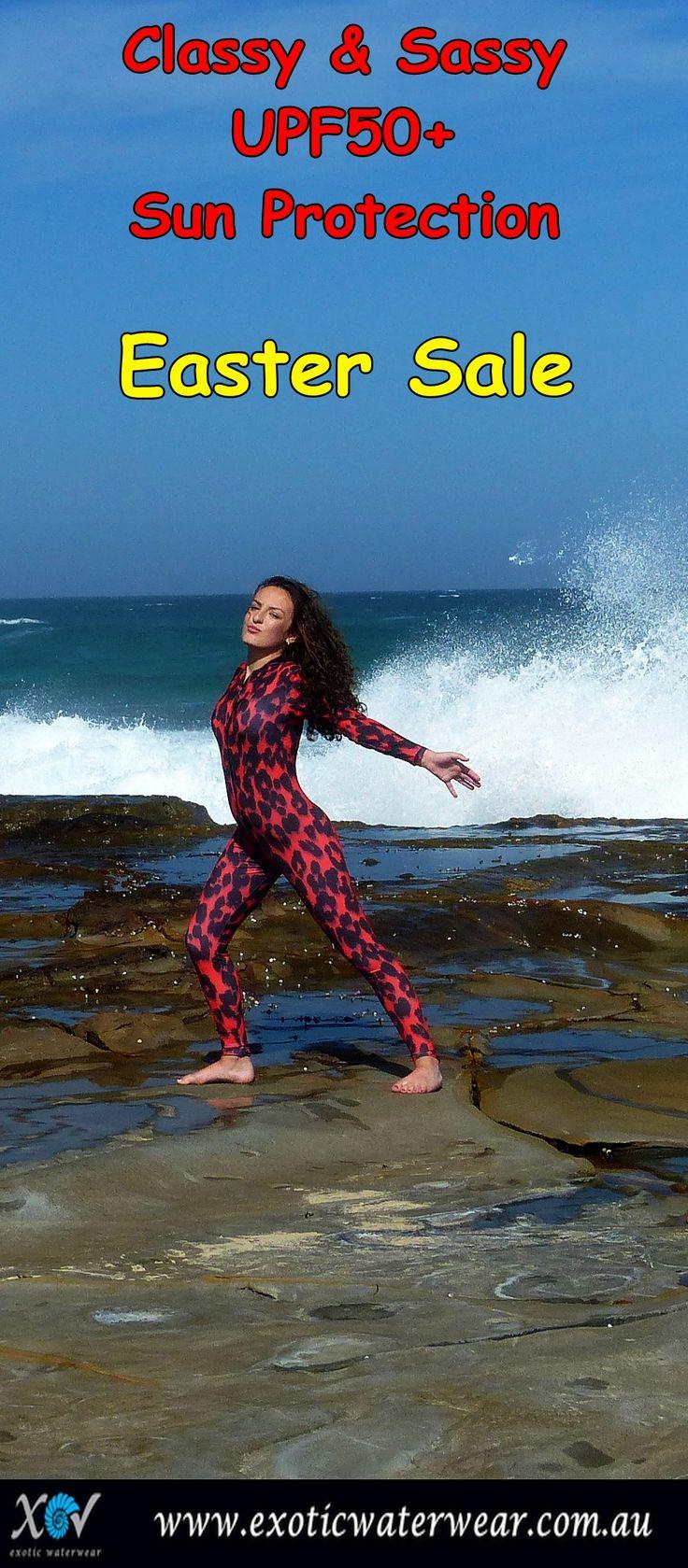 Easter Sale www.exoticwaterwear.com.au  #stingersuit #eastersale