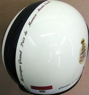 Hand Painted Open Helmet #104 ~ Helmets4Fun - Hand Painted Helmets