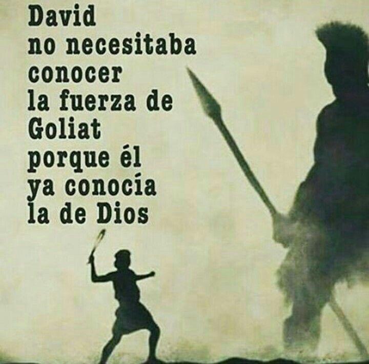 Fuerza que proviene de Dios Siempre :)