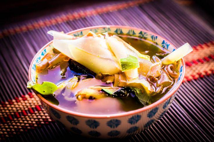 One more thai. Fish soup. Noodle soup.