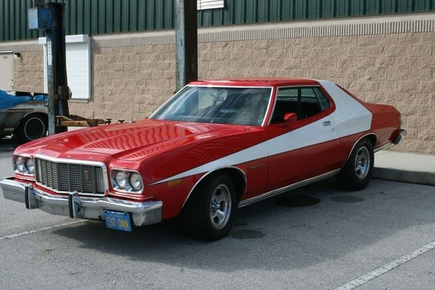 1976 Gran Torino - Starsky and Hutch | The Sexiest Classical Cars In Movie History - Check them out at: http://www.buzzfeed.com/audreyw11/the-sexiest-classical-cars-in-movie-historythe-sex-gsnz