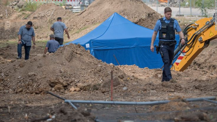 More than 60,000 people are set to be evacuated from the center of Frankfurt on Sunday after a massive WWII bomb was discovered beneath the German city.
