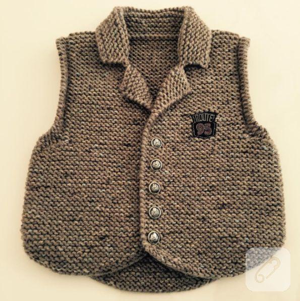 birbirinden güzel örgü bebek yelekleri, bebek yeleği modelleri, kız ve erkek bebekler için tasarlanmış yumuşacık el örgüsü yelekler 10marifet.org'da.