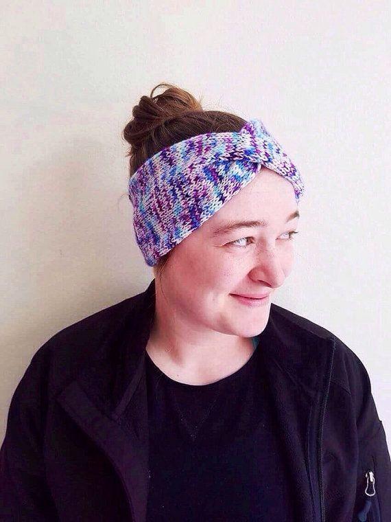 Unicorn Headband by knitcraftandknittery