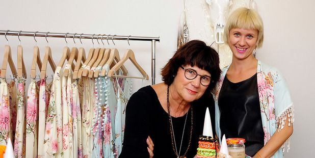 """Carole and Chloe Jarrett have created their clothing brand, Neon Gypsy, """"with a wild heart and head full of dreams""""."""