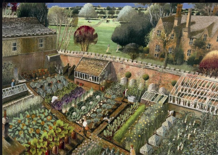 Title: The Vegetable Garden - Richard Adams
