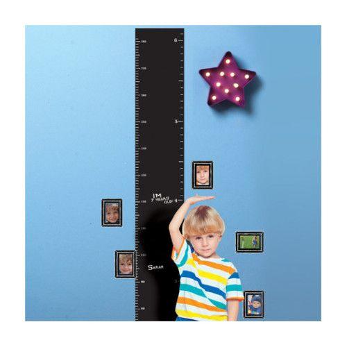 Tabla crecimiento para niños.