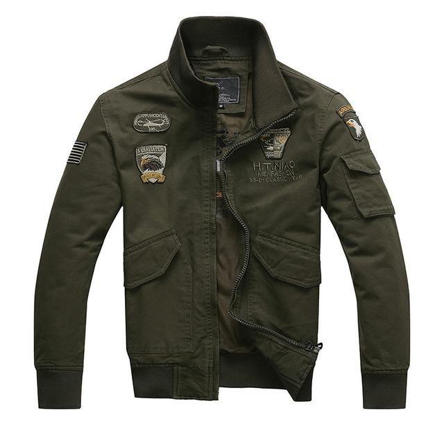 Men's Jacket Army Air Forces Uniform Style