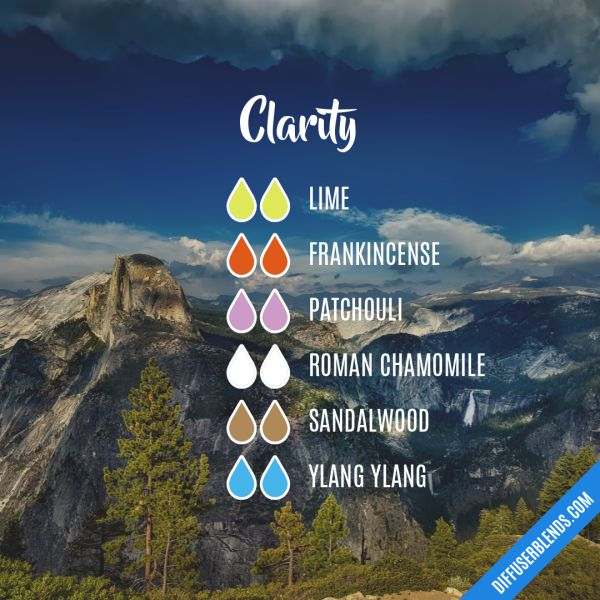 Clarity - Essential Oil Diffuser Blend