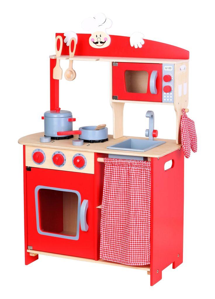 Leomark Mini Wooden Kitchen Chef   £59.99
