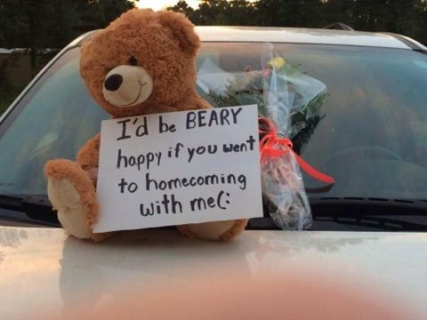 homecoming proposals tumblr - Google Search
