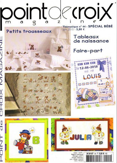 point de croix magazine thématique n°44