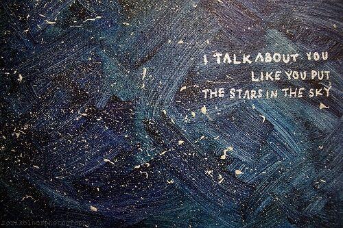 forgotten; forgotten that stars burn. stars die.