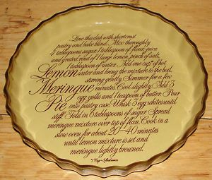 T.G. Green Lemon Meringue Pie Dish - TG Green   | eBay