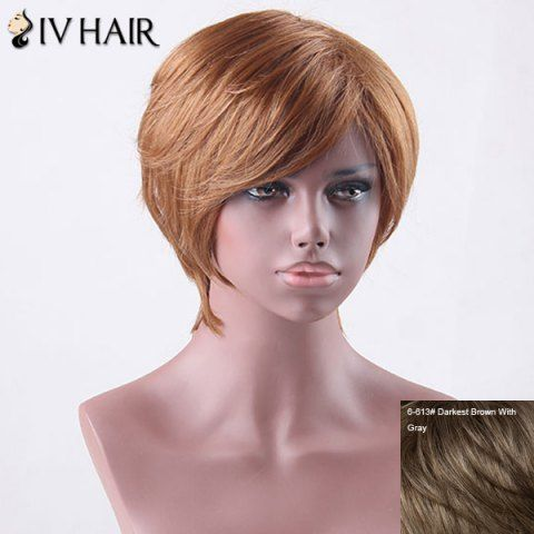 GET $50 NOW   Join RoseGal: Get YOUR $50 NOW!http://www.rosegal.com/human-hair-wigs/short-side-bang-straight-siv-827142.html?seid=4695937rg827142
