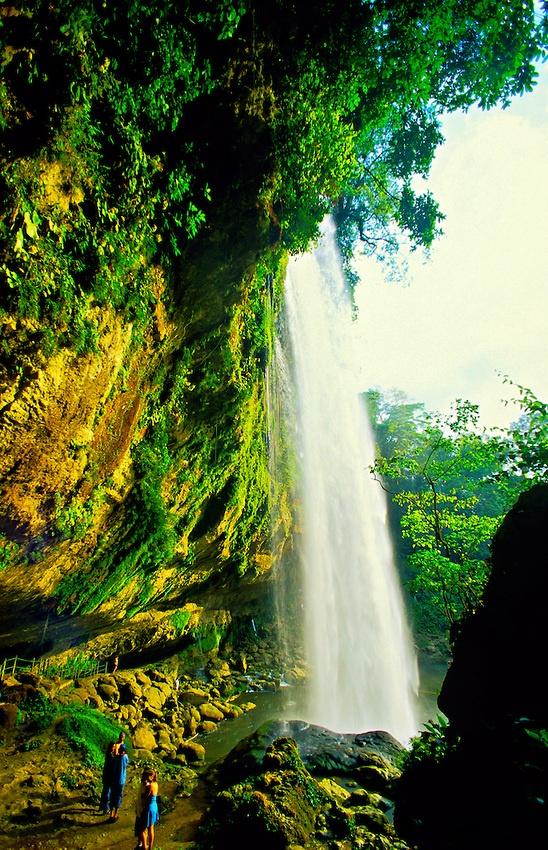 Misol-ha Waterfalls, Near Palenque ~ Chiapas, Mexico #monogramsvacation