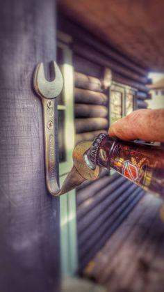 Schraubenschlüssel Bieröffner