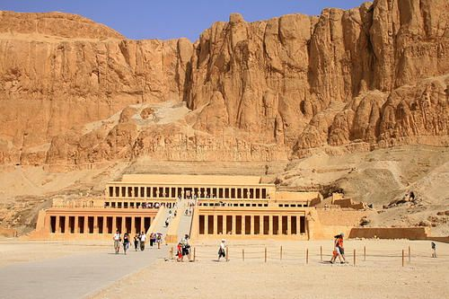 Temple of Hatshepsut - Travel Vacation Packages http://www.maydoumtravel.com/Egypt-Travel-and-Tour-Packages/4/0/