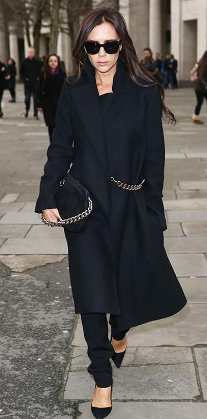 Look of the Day - February 22, 2015 - Victoria Beckham in Victoria Beckham from #InStyle