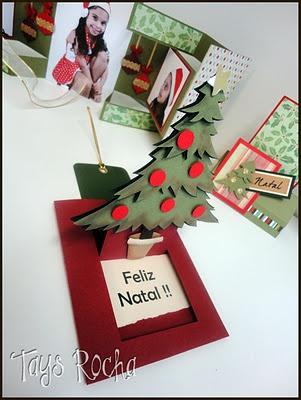 Cartões de Natal #scrapbooking #paperart #punchart #cards