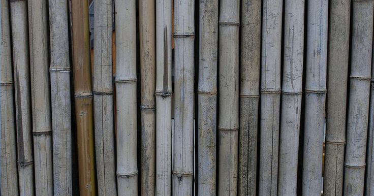 Cómo hacer una cerca de bambú. Las cercas de bambú pueden traer una apariencia de Oriente a tu patio trasero. El bambú es duradero y resistente a la intemperie, su color y textura natural se complementan casi con cualquier paisaje. La mejor parte es que puedes hacer una cerca de bambú en una tarde simplemente siguiendo estos pasos.