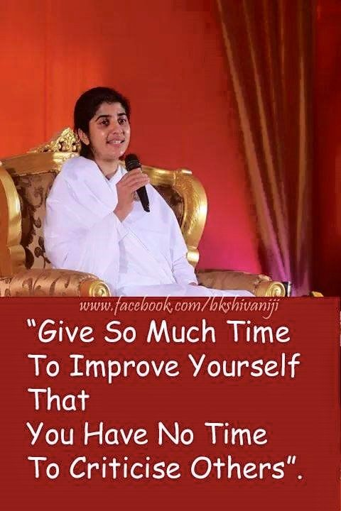 Brahma Kumaris Positive Thinking Quotes: Bk Shivani Relationship 14