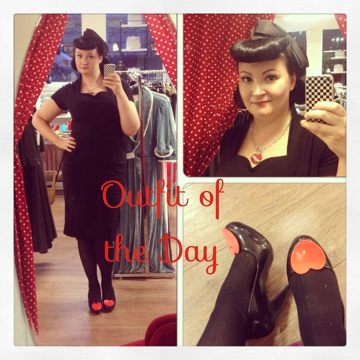 Outfit of the day by Miss Coco de Noir