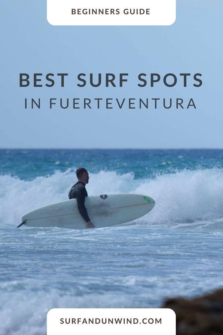We've put together a list of the best surf spots in Fuerteventura so