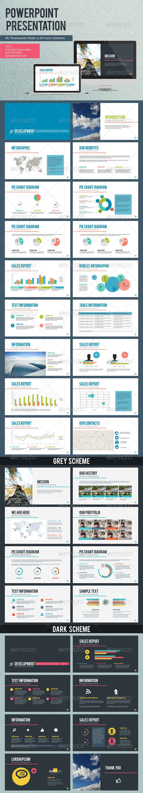 Development PowerPoint Presentation Template (Powerpoint Templates)