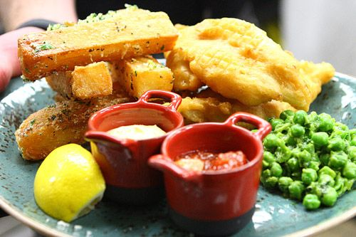 Celebrity Fish and Chips, Gordon Ramsay Pub and Grill, #lasvegas #caesarspalace