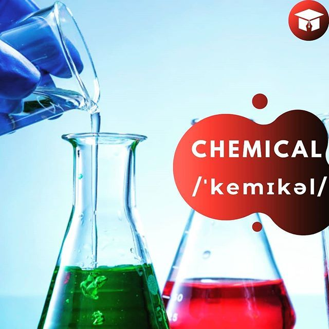 Word Chemical Translation Kimyəvi Sentence You Shouldn T Eat That Because It Includes Chemical Substances Sen On Instagram Posts Chemical Language Courses