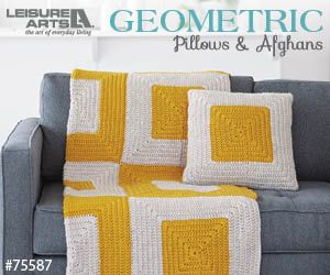 Geometric Pillows & Afghanen