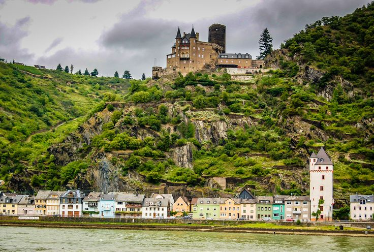 Katz Castle on the Rhine River Germany | by mbell1975