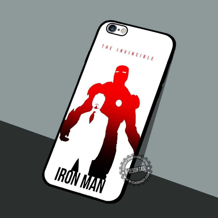 The Invincible Iron Man - iPhone 7 6 5 SE Cases & Covers #movie #superheroes