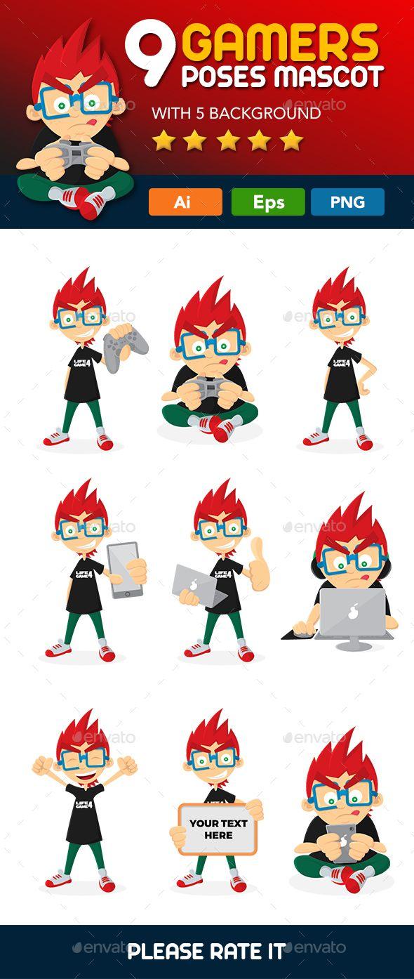9 Gamer Mascot