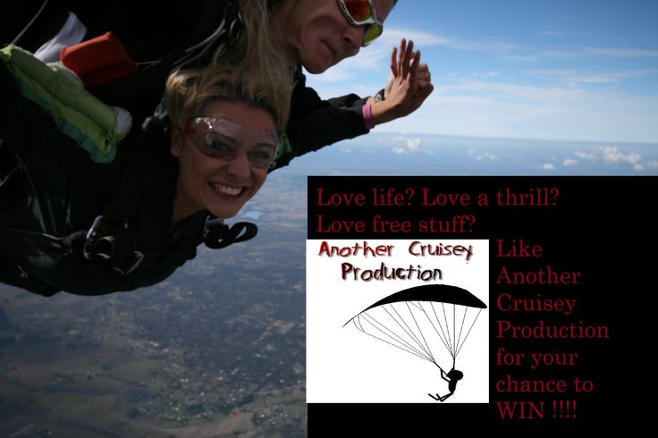 Now on until ACP gets 500 likes on Facebook. Share now for your chance to win a free skydive!