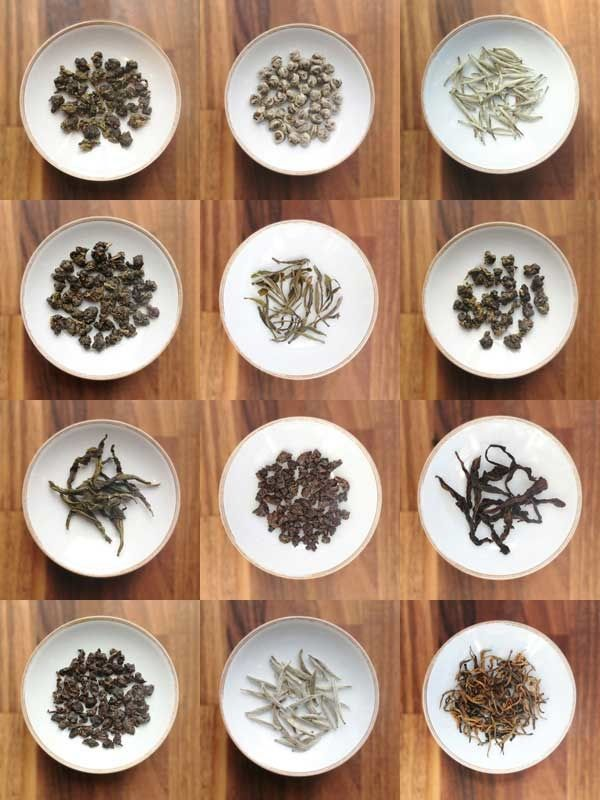 Chinese Tea Ceremony. Selection of tea is highly important.  Oolong usually used. For Gongfu tea ceremony, green tea is usually avoided.