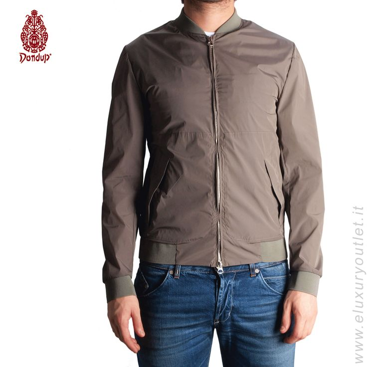 #Dondup #jacket -60% su #eluxuryoutlet!!! >> http://www.eluxuryoutlet.it/it/uomo/capispalla/giacche-sportive/giacchetto-don-dup-2.html