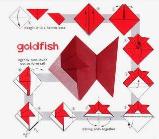 Origami Bal?k ve Denizat?