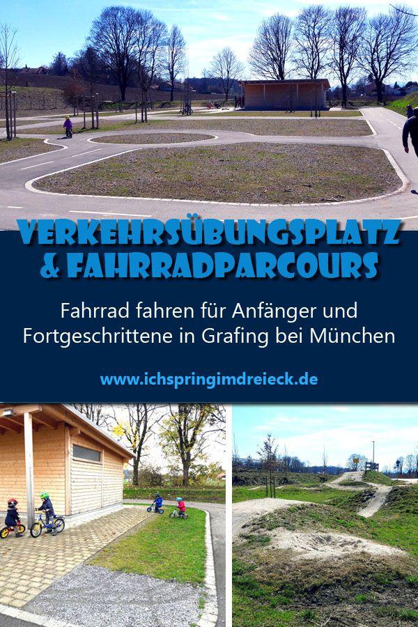 Verkehrsubungsplatz Und Fahrradparcours In Grafing Bei Munchen