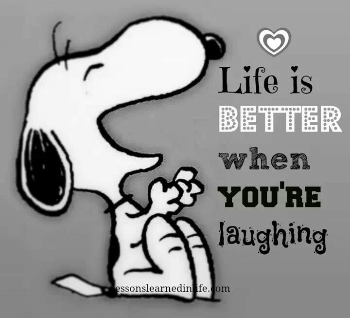 Laughter eliminates stress