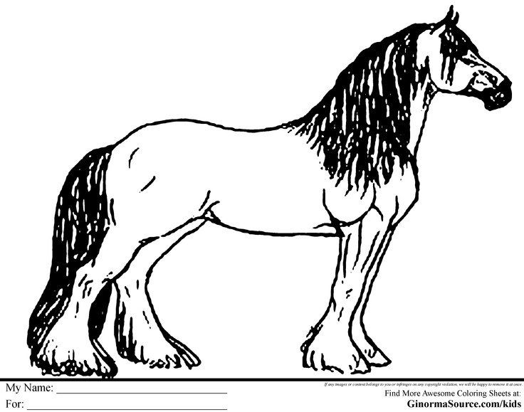 breyer horse coloring pages printable - photo#14